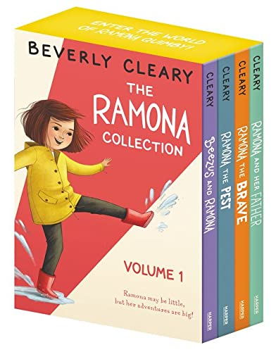 The Ramona Collection, Vol. 1: Beezus and Ramona / Ramona the Pest / Ramona the Brave / Ramona and Her Father von Beverly Cleary