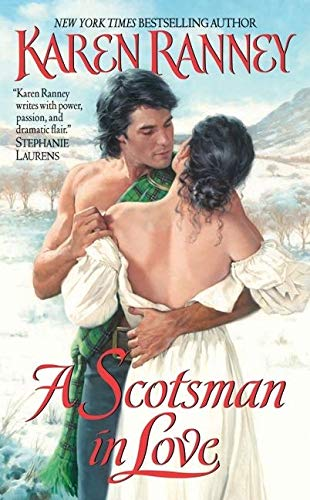 A Scotsman In Love By Karen Ranney Used Very Good border=
