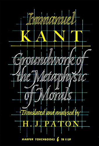 Grounding for the Metaphysics of Morals (Academy Library) By Immanuel Kant