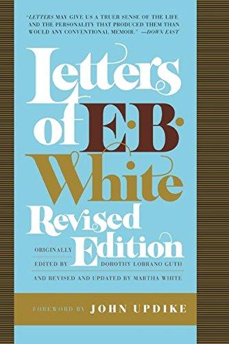 Letters of E. B. White von E B White