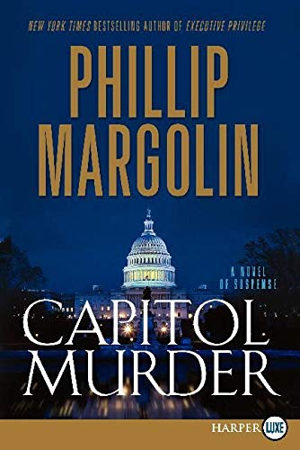 Capitol Murder LP By Phillip Margolin