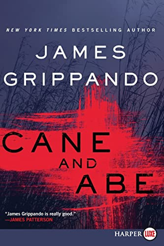 Cane and Abe [Large Print] By James Grippando