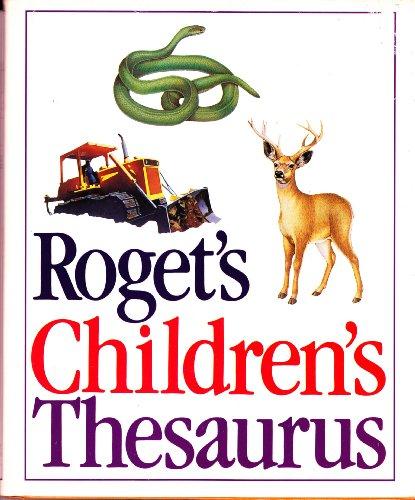 Roget' Childrens Thesaurus By Scott Foresman