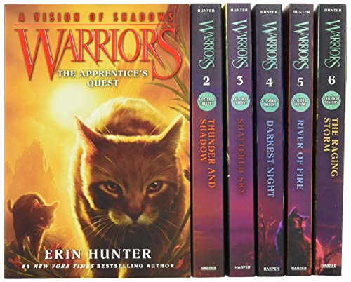 Warriors: A Vision of Shadows Box Set: Volumes 1 to 6 By Erin Hunter