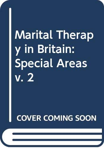 Marital Therapy in Britain By Windy Dryden