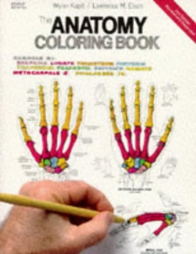 The Anatomy Coloring Book by W. Kapit