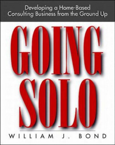 Going Solo By William Bond