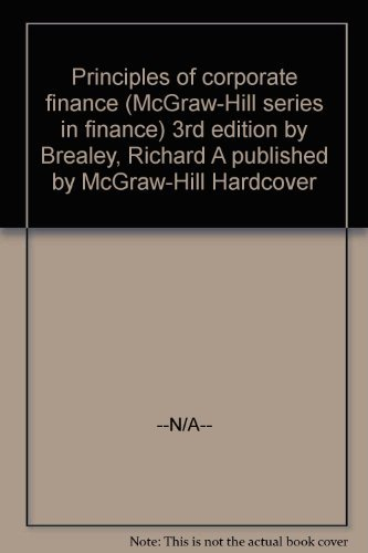 Principles of Corporate Finance By Richard Brealey (Boston College)
