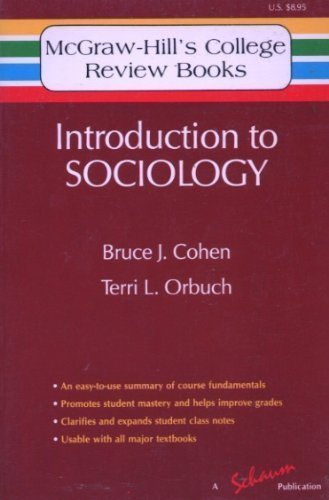 Introduction to Sociology By Bruce J. Cohen
