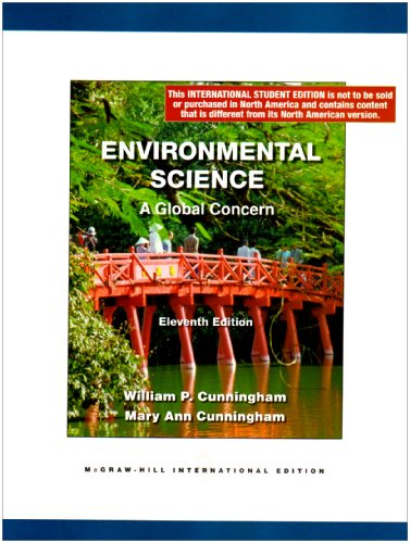 Environmental Science: A Global Concern By William Cunningham