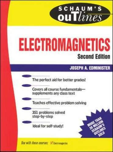 Schaum's Outline of  Electromagnetics By Joseph Edminister