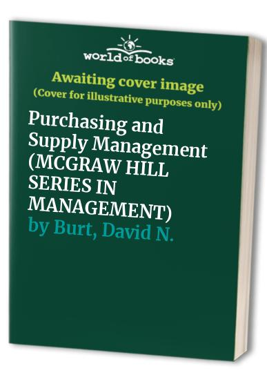 Purchasing and Supply Management By Lamar Lee