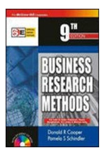 Business Research Methods By Pamela S. Schindler