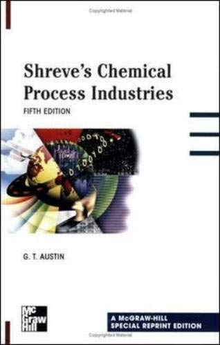 Shreve's Chemical Process Industries By George Austin