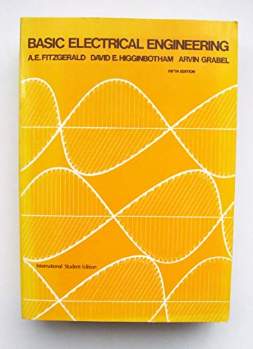 Basic Electrical Engineering by A. E. Fitzgerald