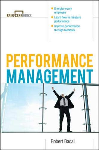 Performance Management By Robert Bacal