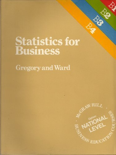 Statistics for Business By Derek Gregory