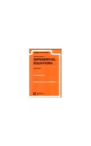 Schaum's Outline of Differential Equations By Frank Ayres