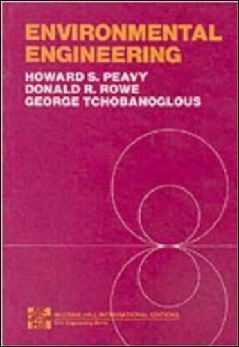 ENVIRONMENTAL ENGINEERING 7/P By Howard S. Peavy