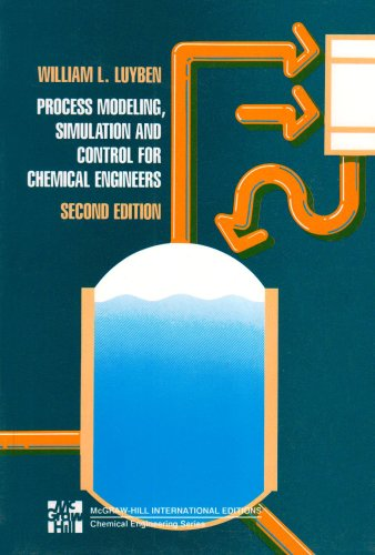 PROCESS MODEL,SIML&CONT 4 CHEM By William L. Luyben