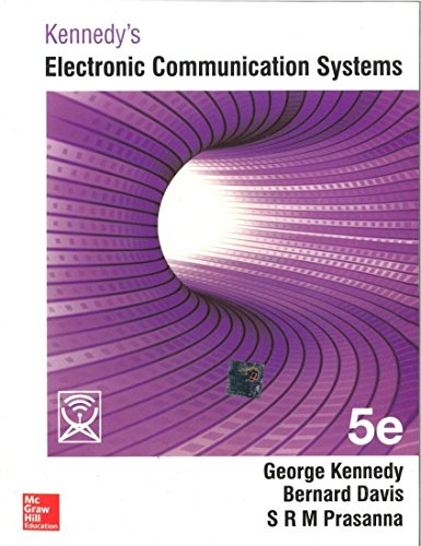 KENNEDYS  ELEC COMM SYSTEMS 5ED By KENNEDY
