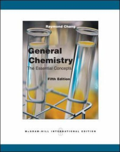 General Chemistry By Raymond Chang