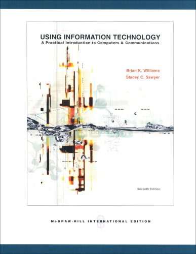 Using Information Technology By Stacey C. Sawyer