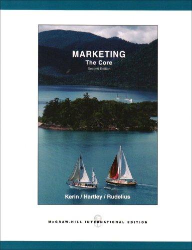 Marketing: The Core w/OLC and Premium Content By William Rudelius