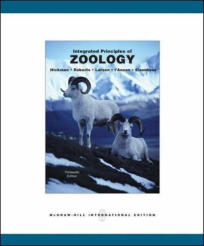 Integrated Principles of Zoology By Cleveland  P. Hickman, Jr.