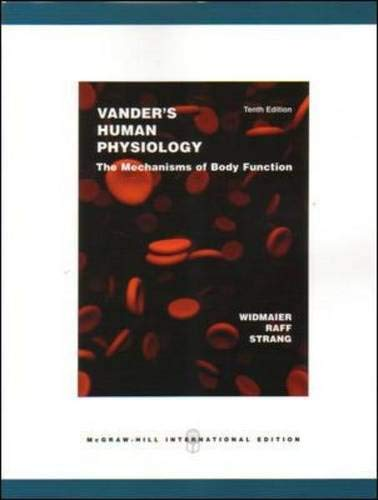 Vander's Human Physiology: The Mechanisms of Body Function: WITH OLC Bind-in Card by Eric P. Widmaier