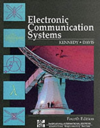 Electronic Communication Systems By George Kennedy