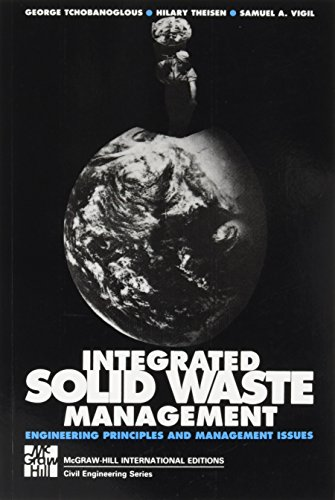 INTERGRATED SOLID WASTE MGMT (Int'l Ed) By George Tchobanoglous