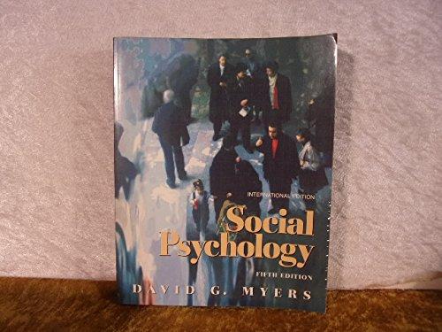 Social Psychology By David G. Myers