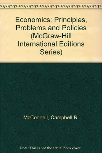 Economics By Campbell R. McConnell