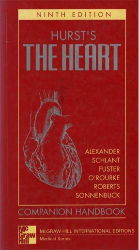 Hurst's the Heart: Companion Handbook By Alexander