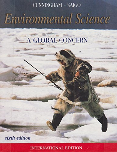 Environmental Science By William P. Cunningham