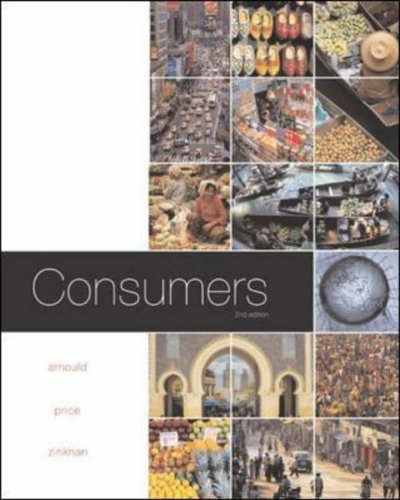 Consumers By Eric Arnould