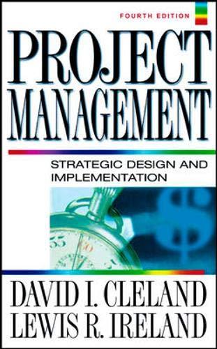 Project Management By David L. Cleland