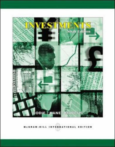 Investments and S&P's Educational Version of Market Insight By Zvi Bodie
