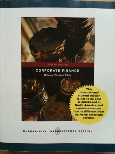 CORPORATE FINANCE By ALLEN