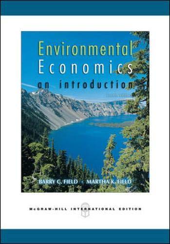 Environmental Economics By Barry C. Field