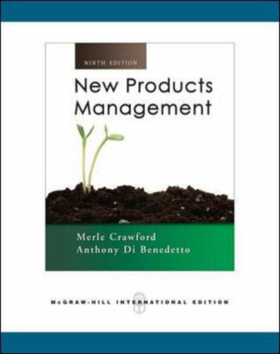 New Product Management By C.Merle Crawford
