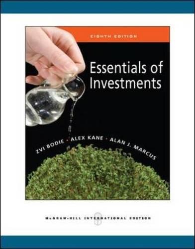 Essentials of Investments By Zvi Bodie