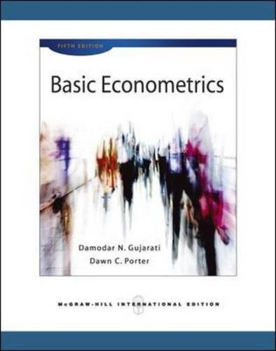Basic Econometrics by Damodar N. Gujarati