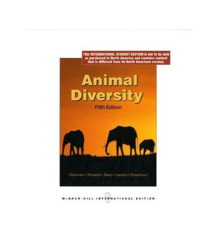 Animal Diversity By Cleveland  P. Hickman, Jr.