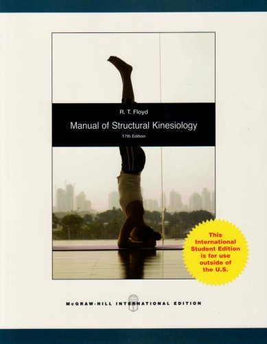 Manual of Structural Kinesiology by R. T. Floyd