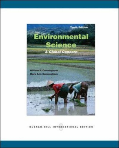 Environmental Science By Mary Ann Cunningham