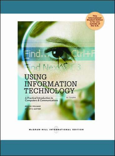 Using Information Technology 10e Complete Edition By Brian K. Williams