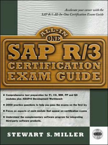 SAP R/3 Certification Exam Guide By Stewart Miller