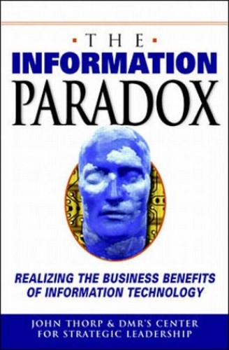 The Information Paradox By John Thorp